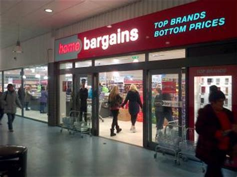 home bargains west heath shopping centre congleton
