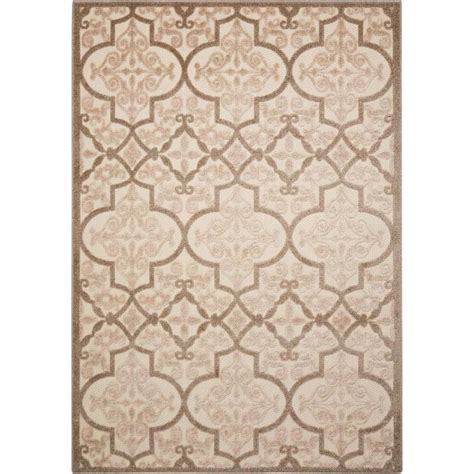 9 X 13 Area Rugs Shop Nourison Aloha Rectangular Indoor Outdoor Area Rug Common 9 X 13 Actual 9 5 Ft W