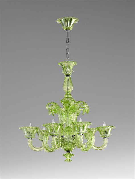 Green Glass Chandelier Lascala 6 Light Green Glass Chandelier By Cyan Design