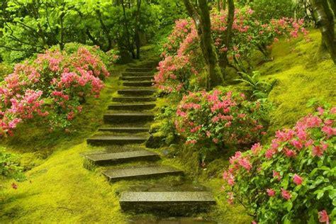 Japanese Garden Portland Oregon by Japanese Garden In Washington Park Portland Oregon Usa