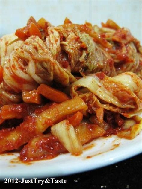membuat pancake ala korea membuat kimchi asinan sayuran ala korea just try