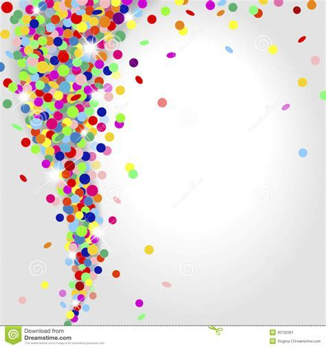 Whirlwind Of Confetti Stock Vector   Image: 40732361