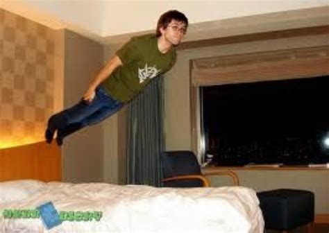 the bed guy bed jumping know your meme