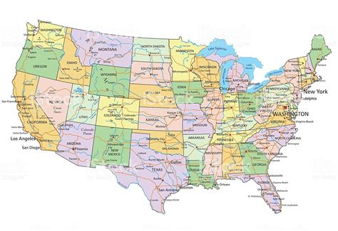 de usa map detailed map of the united states world map 07