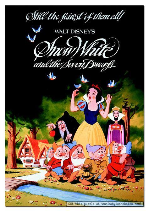 Snow White And The Seven Doors by Disney Puzzels Voor Volwassenen Babylon Puzzels