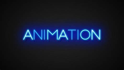 Neon Text Effects Toolkit 3d Animated Color Glow Text Titles Effect Intro After Effects Template After Effects Text Animation Templates