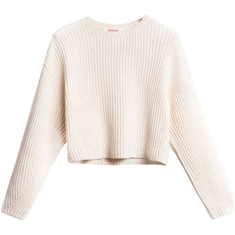 White Sweater sweaters crop top