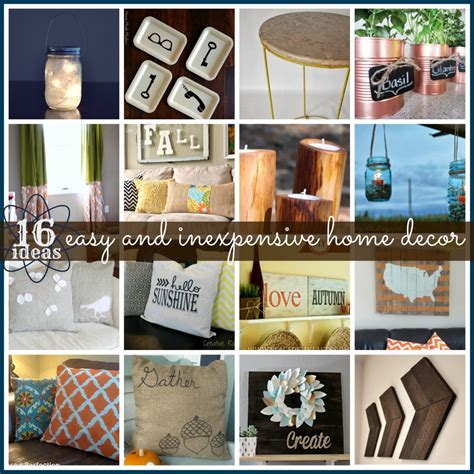 link features 16 inexpensive easy home decor