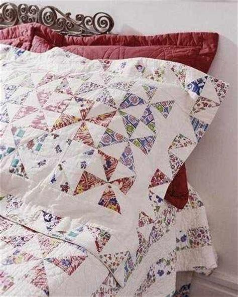 Quilts With Matching Shams Pinwheels Valance Pattern With Matching Quilt Shams And