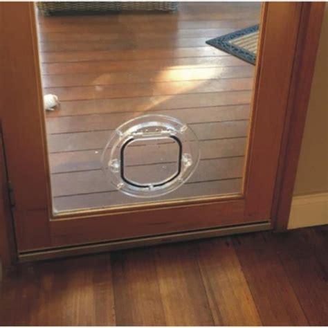 Standard Cat Door For Glass Supplied Installed Cat Glass Door