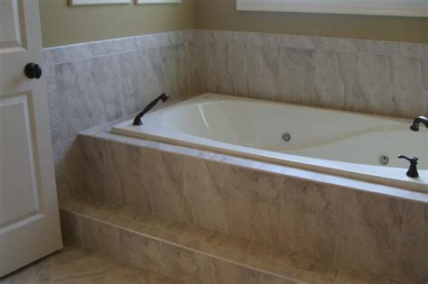 bathtub deck ideas tile tub surrounds tile options and ideas for your master bath