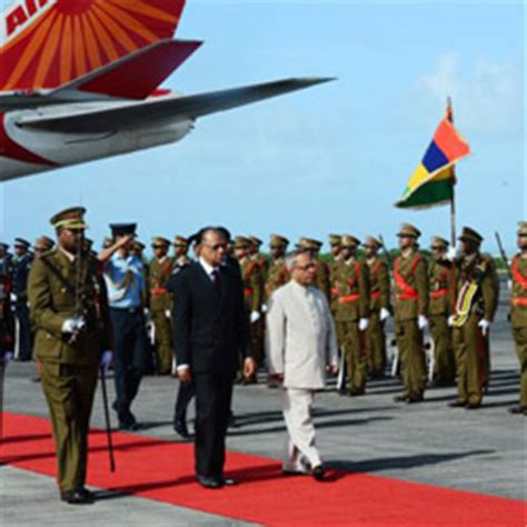 Mba Of Mauritius by 45th Independence Day Of Mauritius Celebrated Pranab