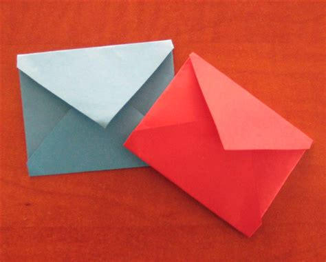 Square Origami Envelope - how to fold an origami envelope easy origami for children