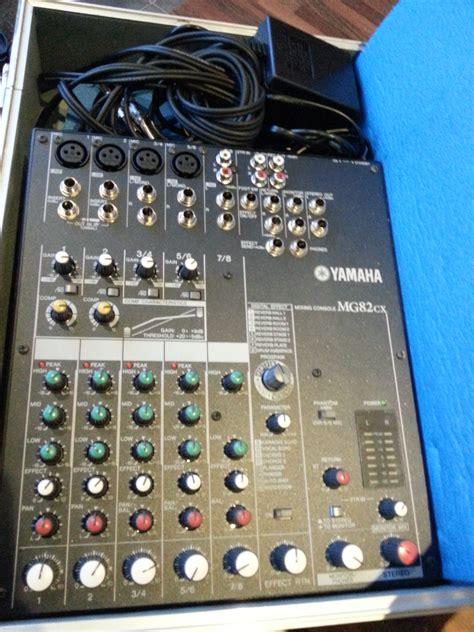 Terbaru Mixer Yamaha Mg82cx yamaha mg82cx image 1068829 audiofanzine