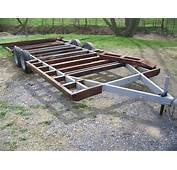 Yostyexplorer94s Camper Frame Trailer Build  Ford