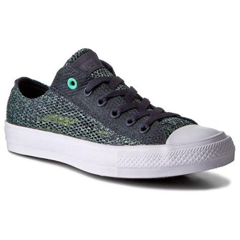 One Ox Camo Green Green Glow White sneakers converse ctas ii ox 155733c sharkskin green glow white plimsolls low shoes