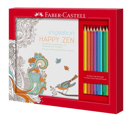 Finger Print Book Faber Castell gift colouring pencils from faber castell
