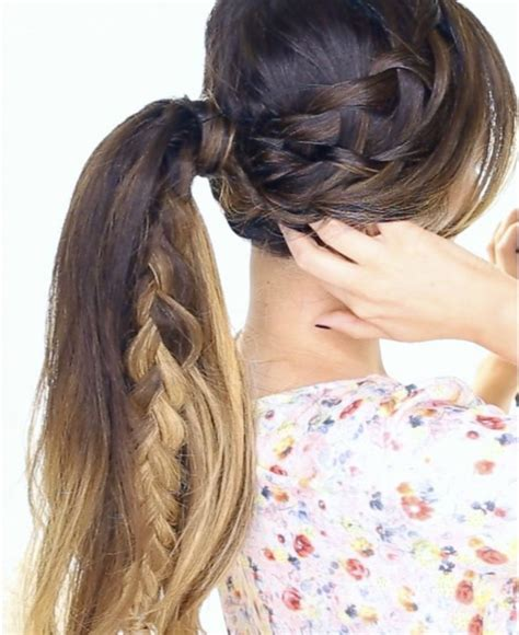 Hairstyles For Braids by Hairstyle Ideas For Braids Wrsnh