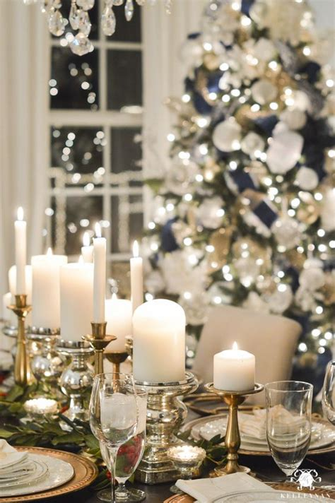 elagant christmas table tops in white theme top table settings celebration all about