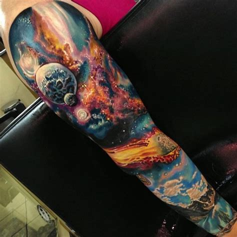 space ideas 40 space tattoo ideas for astronomy lovers dzine mag