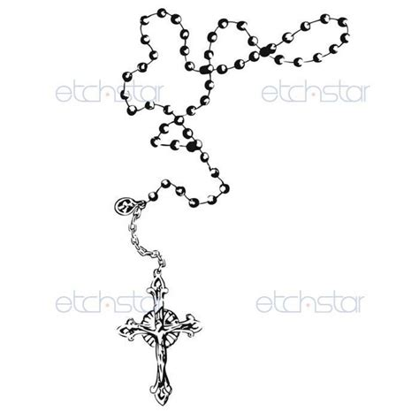cross and rosary beads tattoo designs rosary tattoos 215404 0132 jpg 1050 215 1050 ink