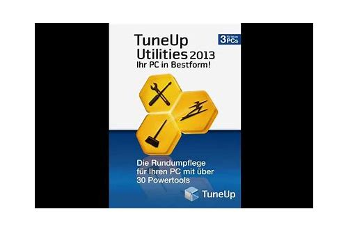tuneup utilities 2013 testversion kostenlos herunterladen vollversion