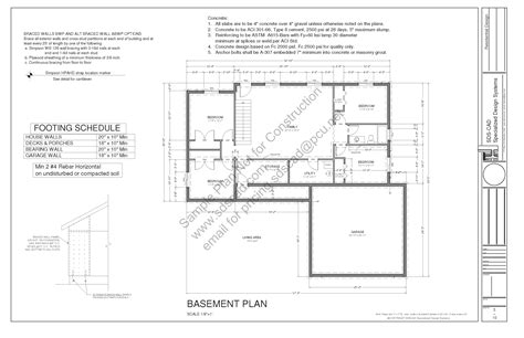 spec house plans sds233 contractor spec house plan 3 bdrm 2 bath main 1367 sq ft blueprints