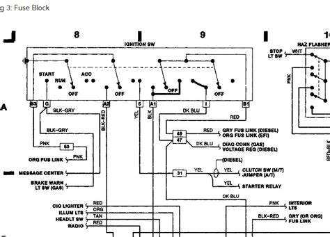 motor wiring diagram for ignition switch diesel motor