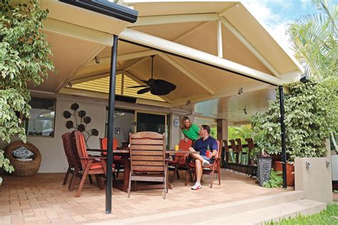Stratco Patio Cost by Stratco Cooldek Roofing Installer Hitec Insulated Patio