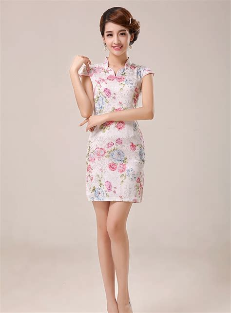 Product Import Jacuard Cheongsam Import Cg4244 White retro jacquard cheongsam import ds4240 white tamochi