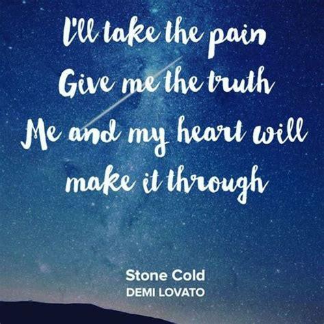 demi lovato stone cold song lyrics stone cold demi lovato quotes lyrics pinterest