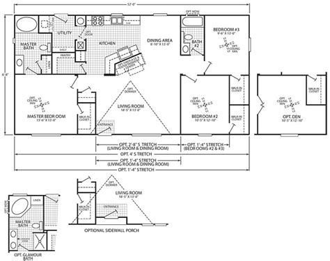 home floor plans oregon 30 best images about mobile home floor plans on pinterest