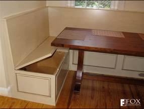 bench storage the breakfast nook fox woodworking