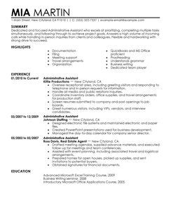 resume sles for office admin administrative assistant resume sle recentresumes