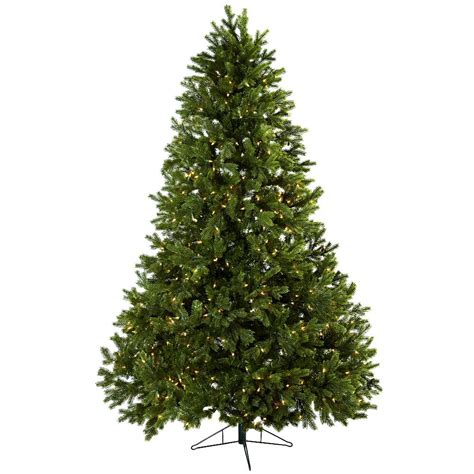 artificial tree prelit 7 5 royal grand artificial tree with clear