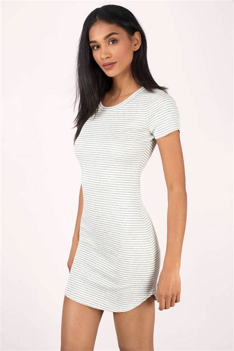 Bodycon Dress Channel Bodycon Dresses Tight Fitted Bandage White