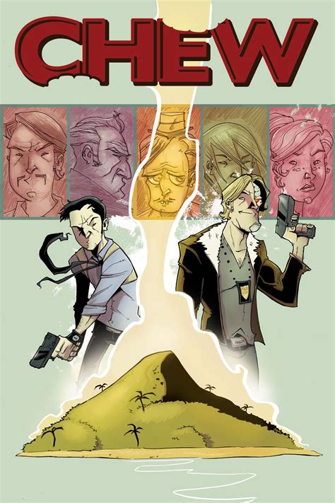 Chew Vol 1 Taster S Choice Graphic Novel Ebook E Book chew 1 3 by layman and rob guillory 2009 10 e the black letters