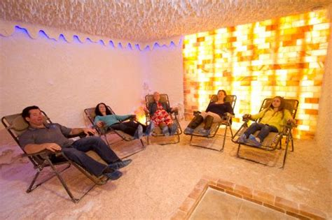 salt room therapy salt room for halotherapy picture of the rock spa kitchener tripadvisor