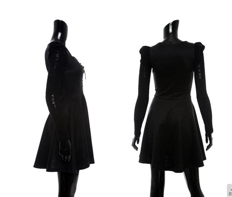 Dress Brukat Hitam Merah dress import korea hitam cantik dress import korea hitam