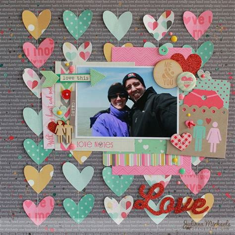 creative and romantic scrapbooking ideas 17 creative and romantic scrapbooking ideas paper hearts