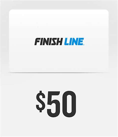 Finish Line Gift Card - finishline