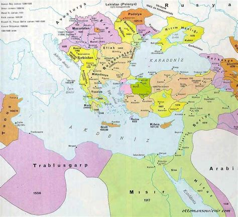 ottoman empire 1500 map the maps of ottoman empire