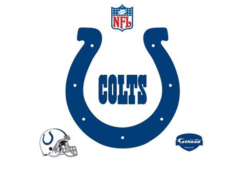 Colts Home by Indianapolis Colts Logo Wall Decal Shop Fathead 174 For