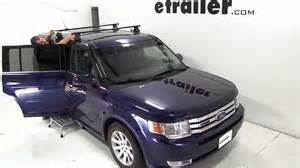 installation of a thule traverse roof rack on a 2011 ford