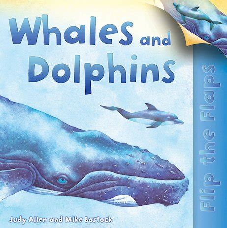 flip the flaps: whales and dolphins scholastic kids' club