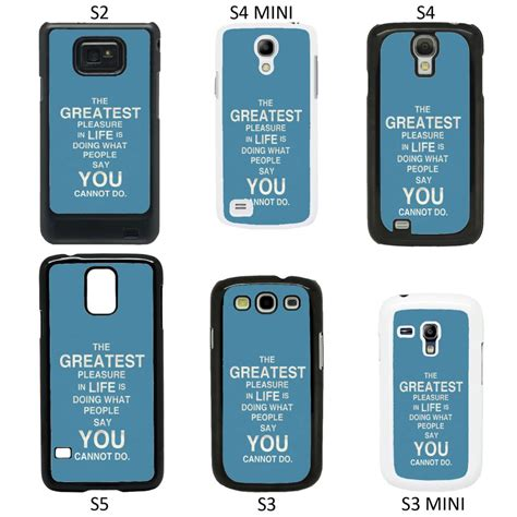 Samsung A3 Mini Sayings Quotes Cover For Samsung Galaxy S2 S3 S4 S5