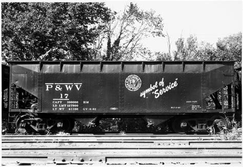 stencil 201 pb rolling stock series part 4 section 1 p wv 17 with symbol of service stencil aug 1962
