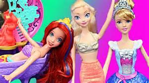 frozen elsa mermaid disney princess magic water color