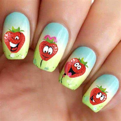 nail art pattern stickers aliexpress com buy 1 sheet water transfer nail art