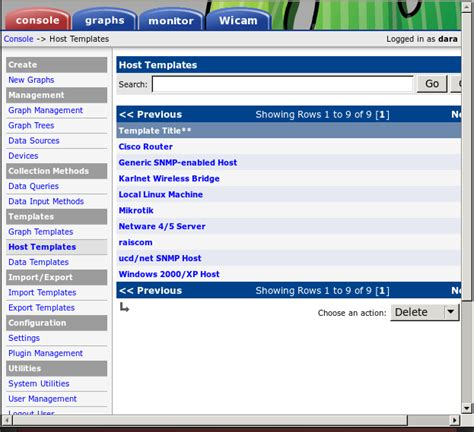 mikrotik template cacti tech note how to import mikrotik host template to cacti
